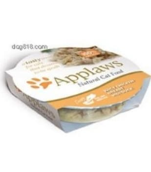 Applaws Succulent Tuna Fillet with Crab 60g