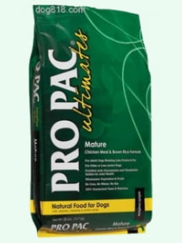 PRO PAC® Ultimates™ Mature Chicken Meal & Brown Rice Formula 26.5LBS