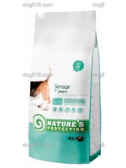 Nature's Protection 活力老犬 4KG