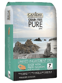 CANIDAE® Grain Free PURE  Cat Food 10LBS